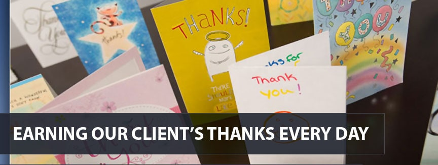 Earning Our client's Thanks Every Day