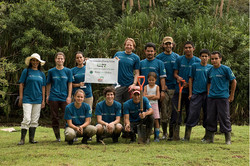 Planting Trees in Costa Rica